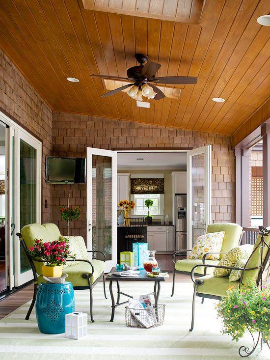 pretty porches we love - Pretty Porches And Patios