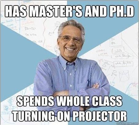 So True College Memes College Humor College Professor
