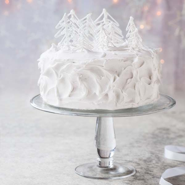 Step-by-step winter wonderland cake | Recipe | Christmas ...