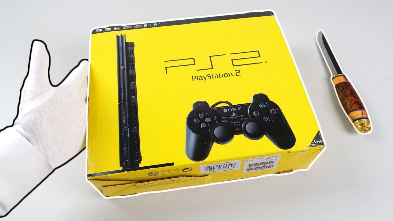 Ps2 Slim Unboxing Sony Playstation 2 Console Brand New Sealed
