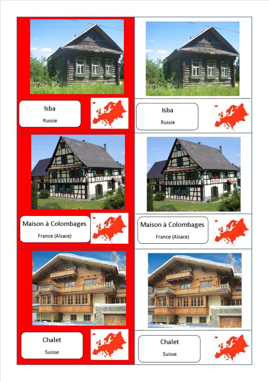 Cartes nomenclature habitats europe fichier pdf complet for Les habitations du monde
