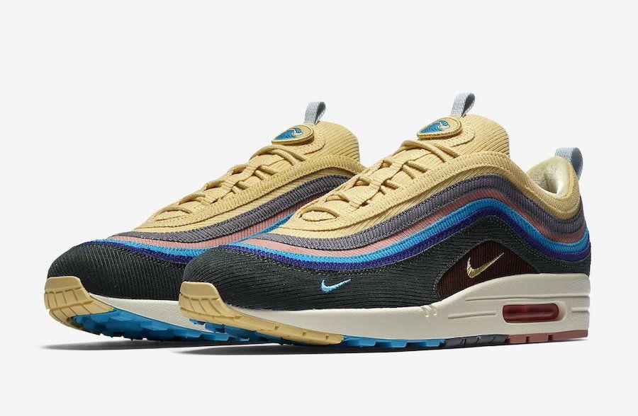 Nike Air Max 1 97 Sean Wotherspoon Aj4219 400 Best Sneakers