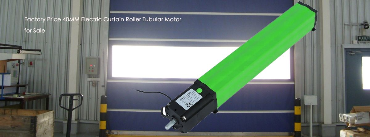 Factory Price 40mm Electric Curtain Roller Tubular Motor For Sale