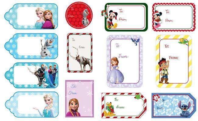 ¡Queridos Reyes Magos! Mirad estas Etiquetas imprimibles para los regalos