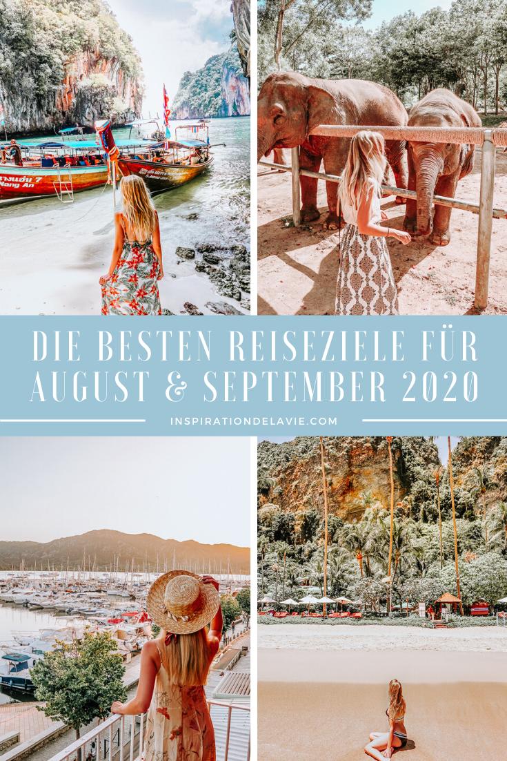 Die Besten Reiseziele Fur August Und September Im Sommer 2020 In 2020 Reiseziele Reisen Urlaub Im September