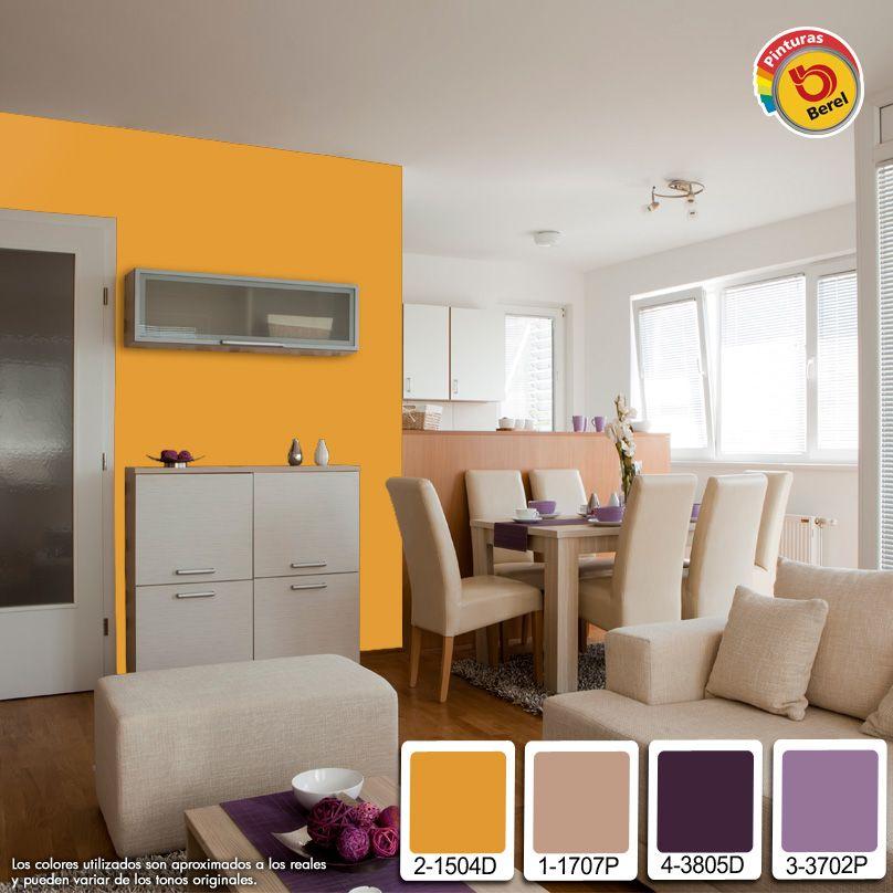 El color naranja es el ideal para crear una sensaci n de for Colores para cocina comedor