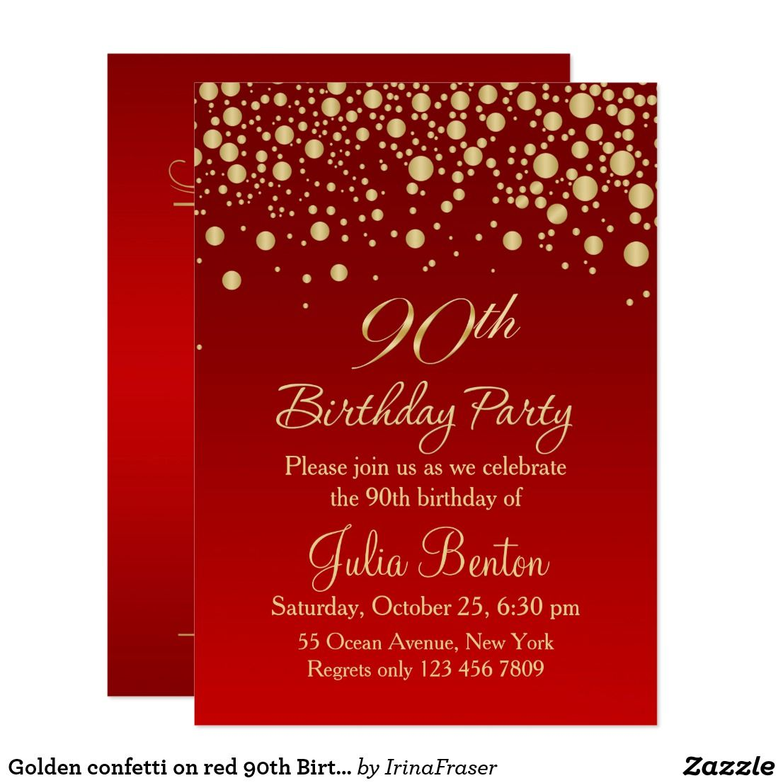 Outstanding Free 90th Birthday Invitations Sketch - Resume Ideas ...