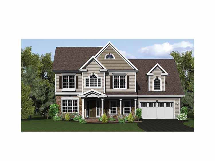 Adam   Federal House Plan with 2060 Square Feet and 3 Bedrooms from     Adam   Federal House Plan with 2060 Square Feet and 3 Bedrooms from Dream  Home Source