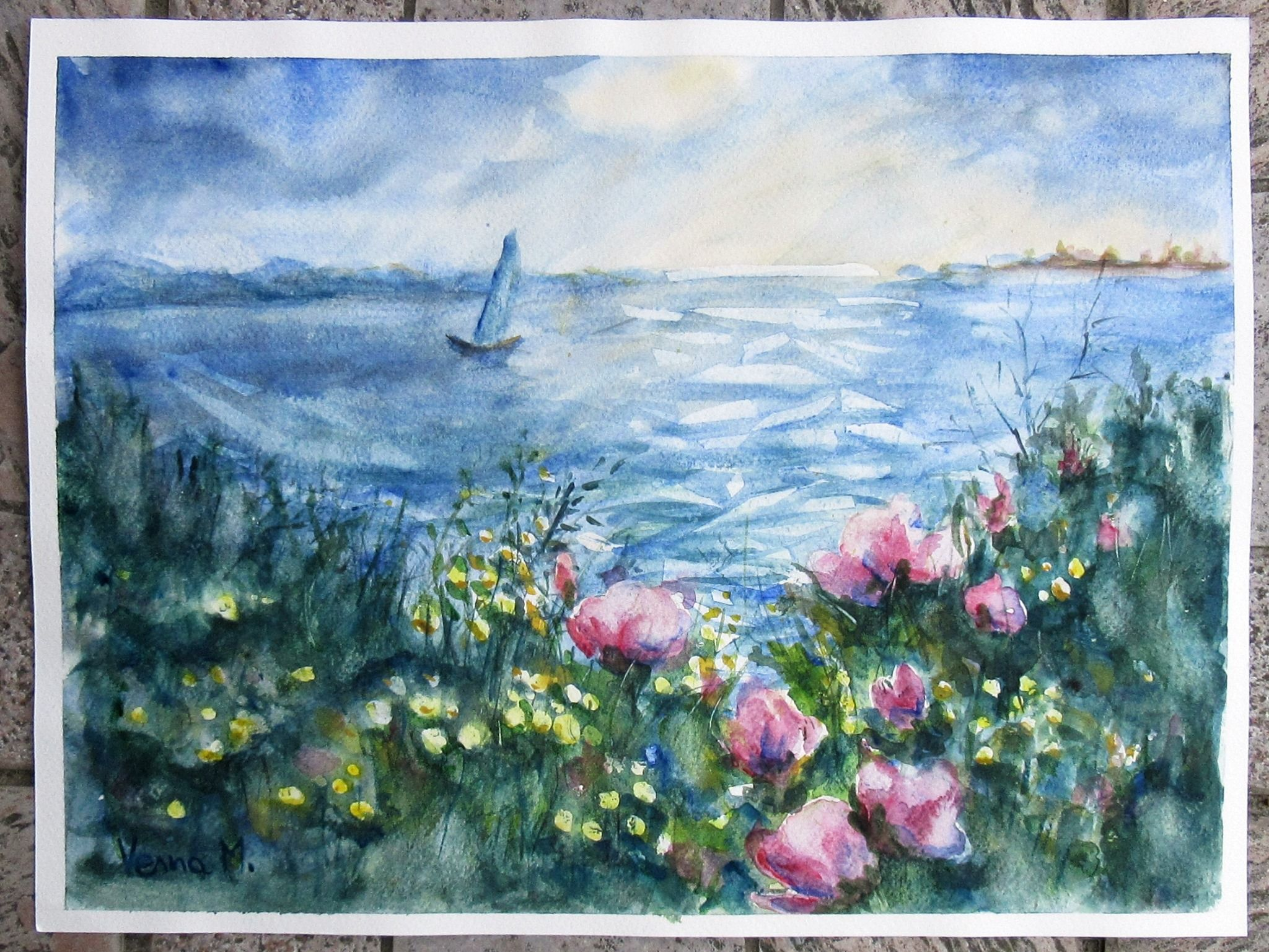 Pin On Landscapes My Painting