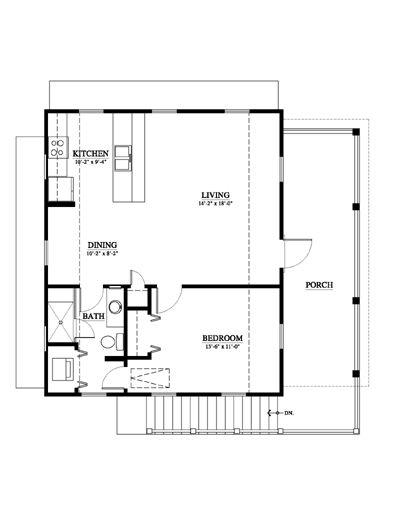 Elevation 750 Sq Ft 1 Bed Over 2 Car Garage House Plans Garage Apartment Plans Garage Plans
