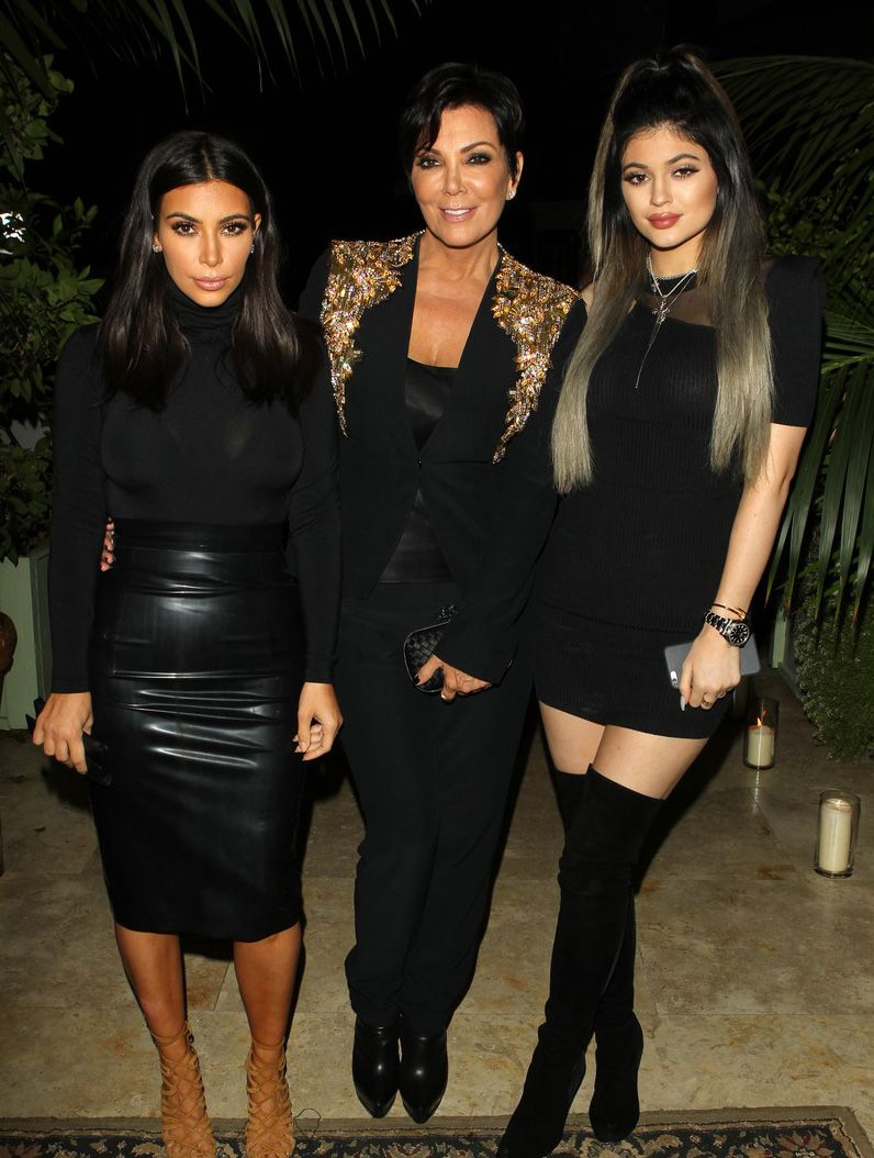 A Brief History of Kardashians Posing with Extravagant