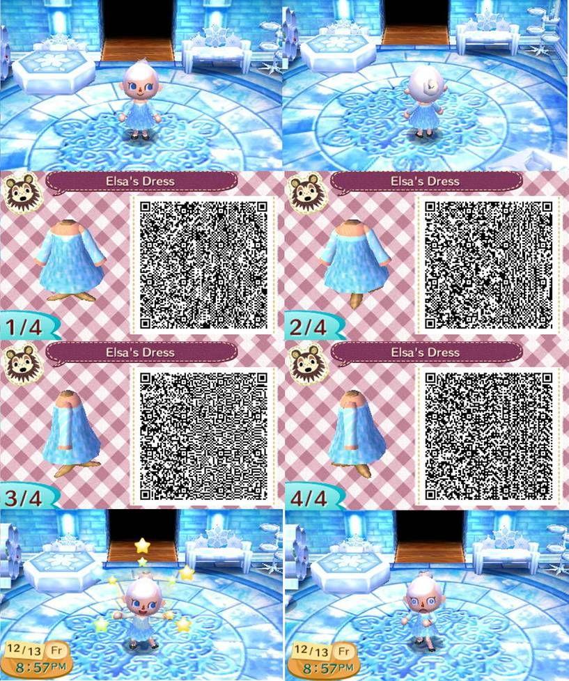 Animal Crossing: New Leaf QR - Elsa by anj6193 on DeviantArt