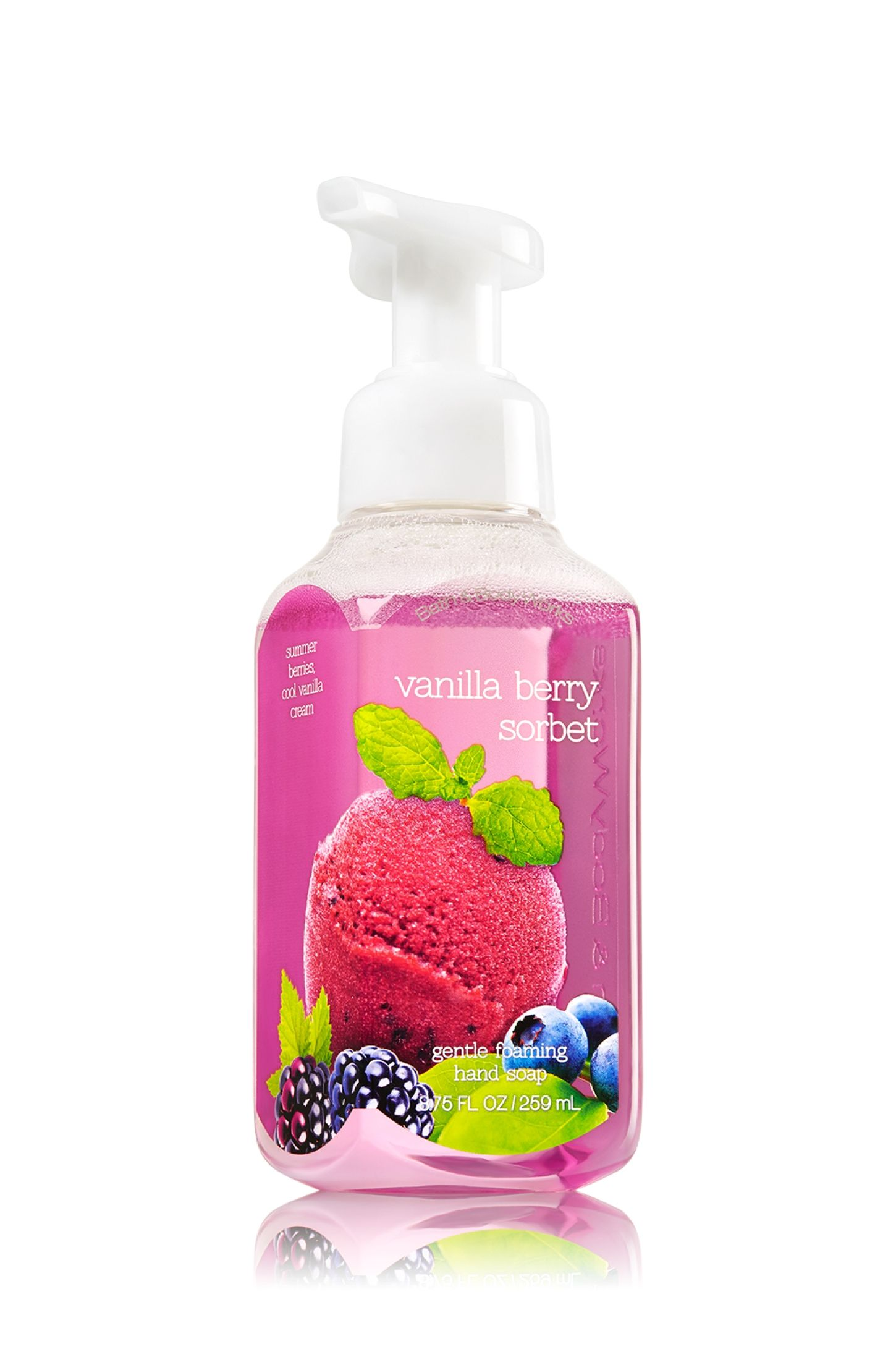 Vanilla Berry Sorbet Gentle Foaming Hand Soap Soap Sanitizer
