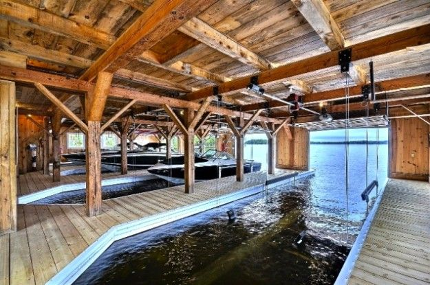 Old Woman Island, Lake Muskoka. Boathouse. | boathouse ...