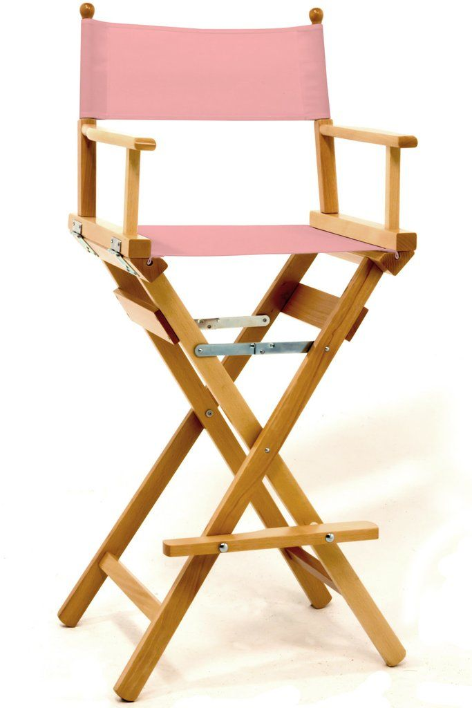 Pro Makeup Directors Chair In 2019 Makeup Chair Folding