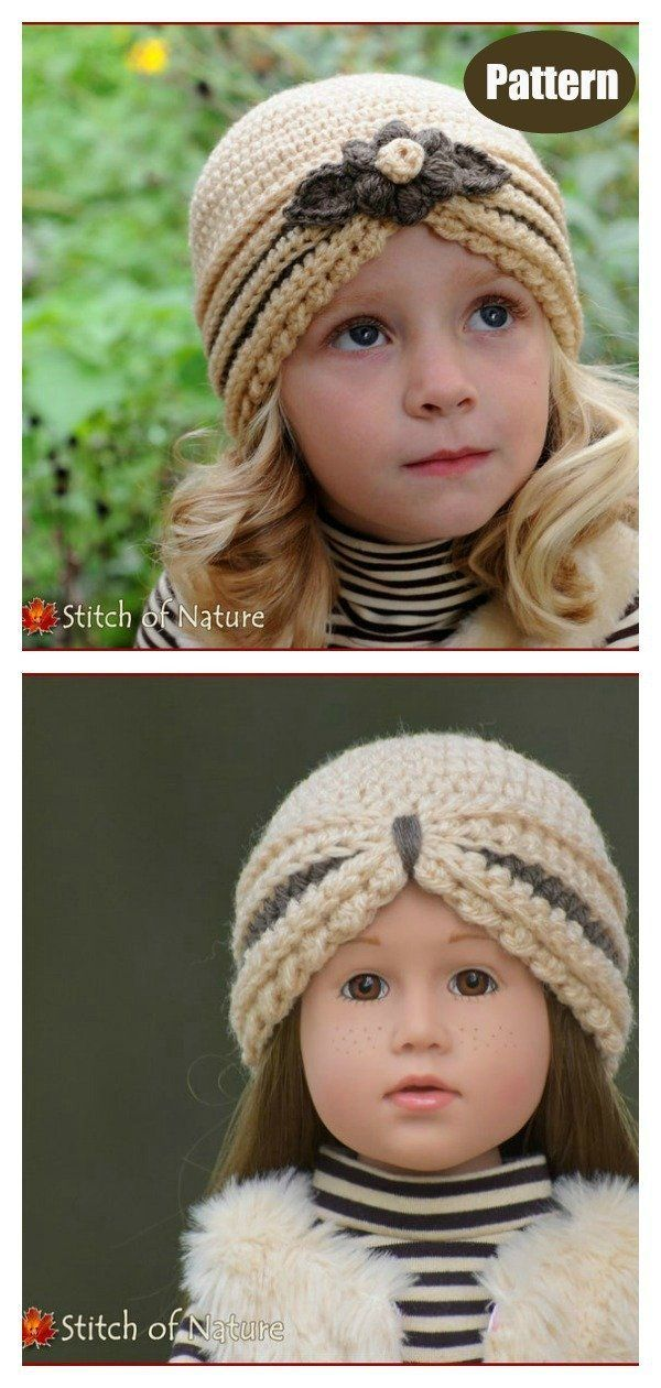Turban Hat Free Crochet Pattern and Paid in 2020 | Crochet ...