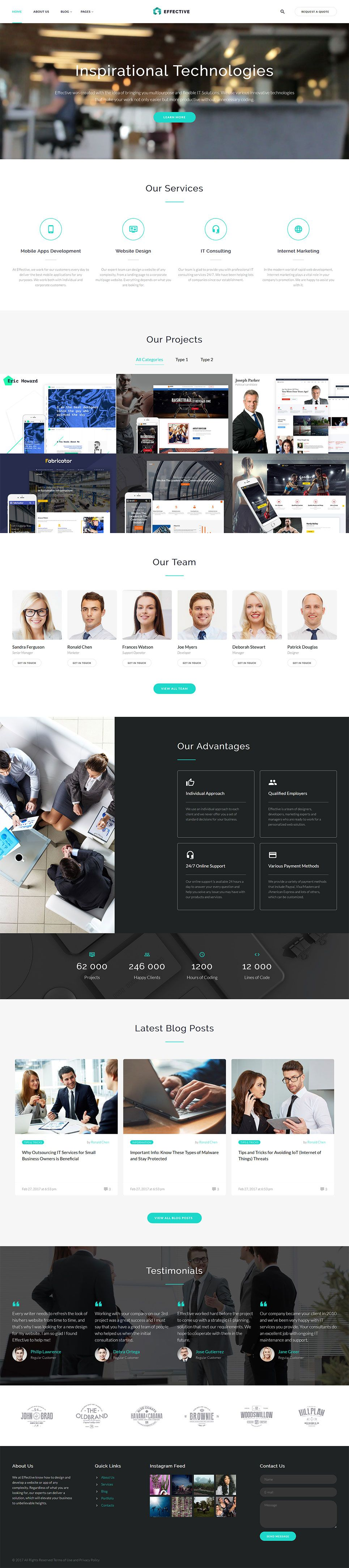 Effective - #development & Consulting #agency #html5 #website ...