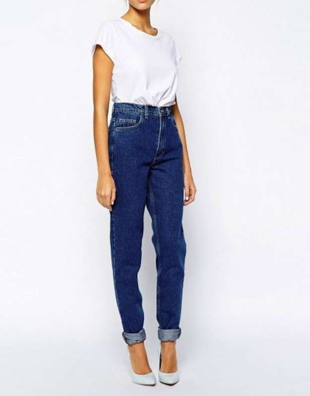 Tendencias PV 2015 Jeans tiro alto: fotos de los modelos - Jeans ...