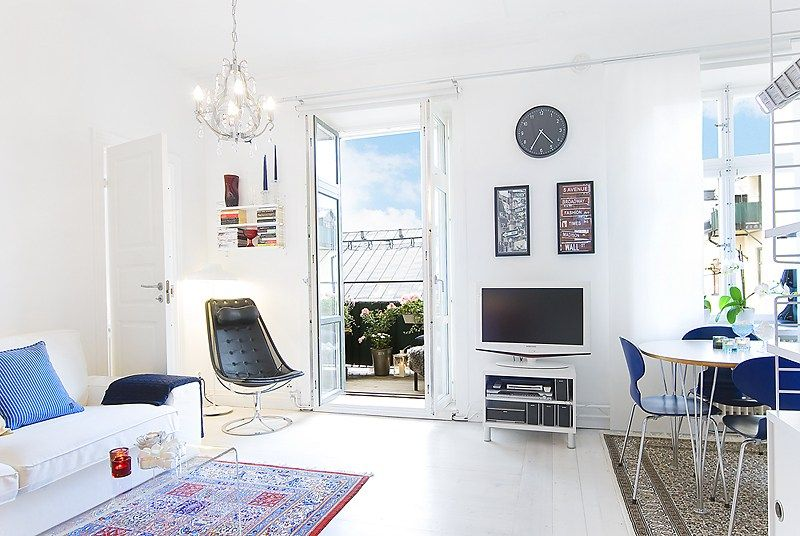 40 m² con terraza
