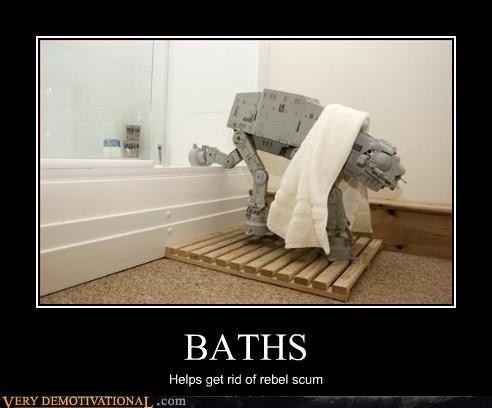 Geek bath humor