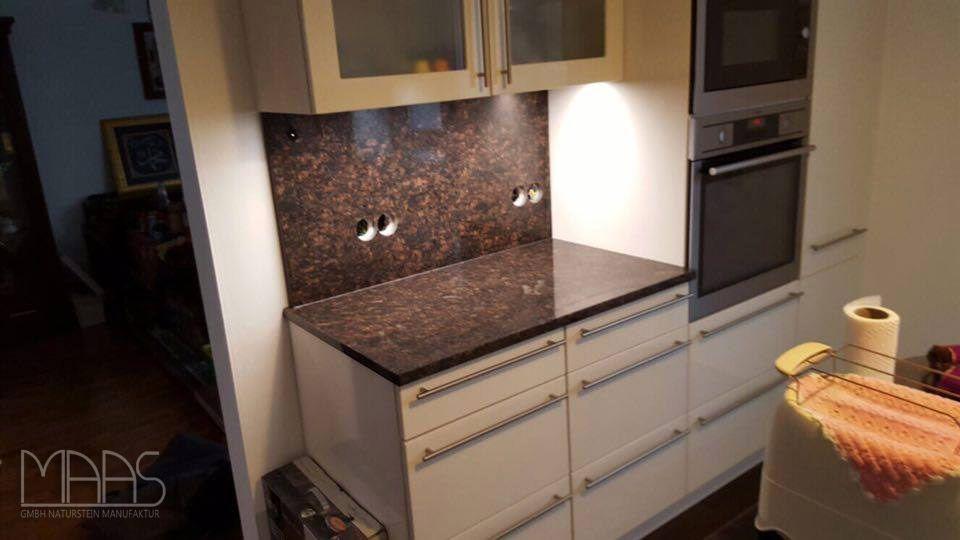 Aufmaß, Lieferung und Montage - Remscheid #Tan #Brown #Granit - küchenarbeitsplatte aus granit