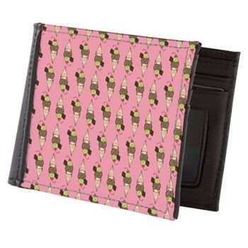 Ice cream - Stay cool Mens Wallet Accessories by Fake Koala