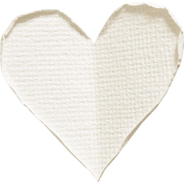 Mrd Frostyfriends White Paper Heart Png Clip Art White Paper Polyvore