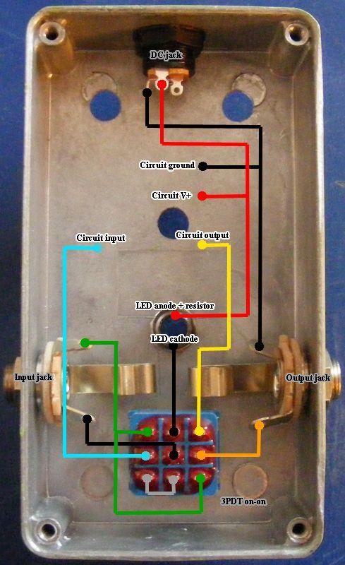 Guitar Reverb Effect Circuit Diagram Wiring Diagram