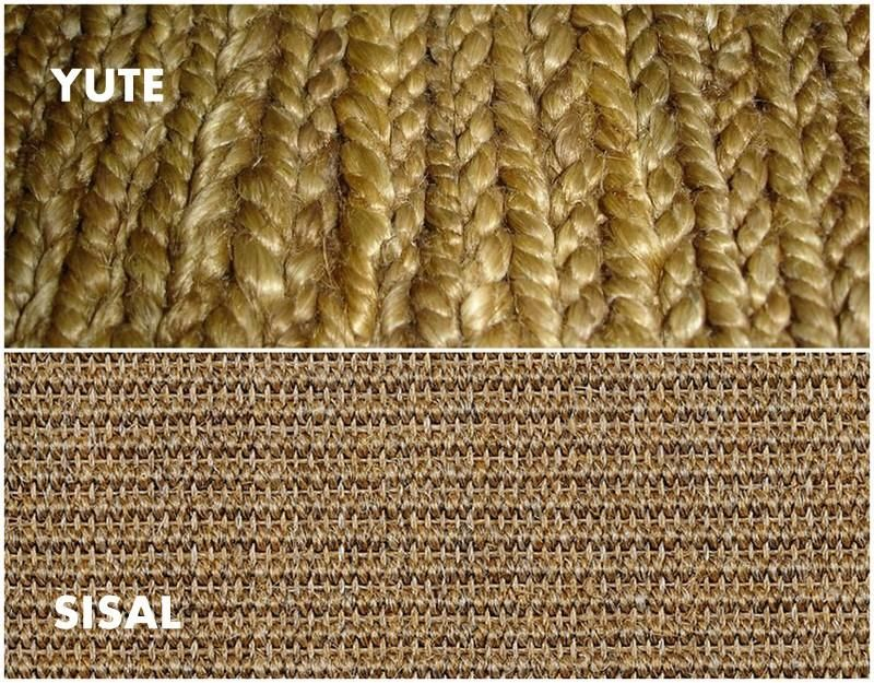 Alfombras de yute o alfombras de sisal alfombra piso - Alfombras sisal ikea ...