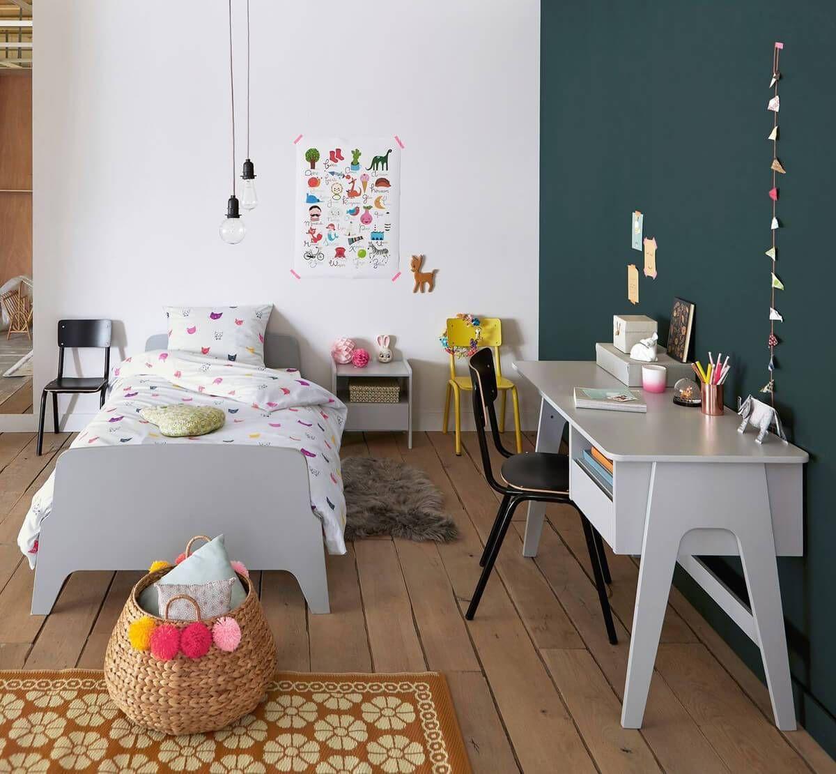 des bureaux inspirants pour les kids | bureau, couleur flashy et