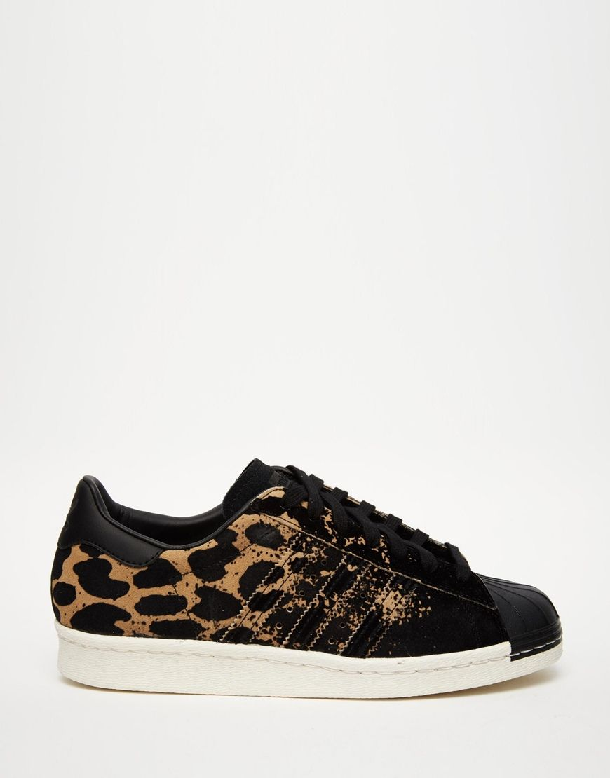 Trendy Women's Sneakers : adidas Originals Superstar Ombre Animal Print  Sneakers