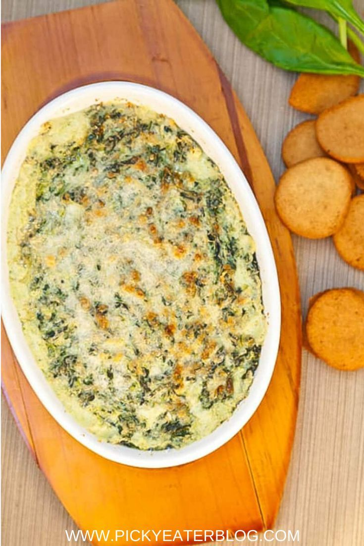 This healthy cheese dip made with smoky onion and kale is packed full of flavor. It's a lightened up sharing dip, perfect for pot lucks, BBQ's and parties! #easy #recipes #homemade
