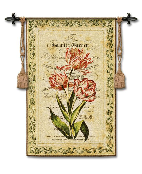Charming SEE DETAILS HERE: Botanical Garden I Tapestry Wall Hanging ༺༻ Make Your Home  An 🏡 Contact Me For Any Questions About The Real Estate Market U0026 Schools  ...