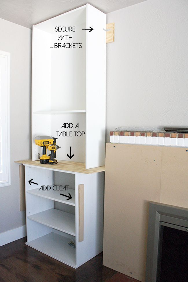 Ikea Hack Bookcase: Ikea Hack, Built-ins, Fireplace, Bookcase, Billy Bookcase