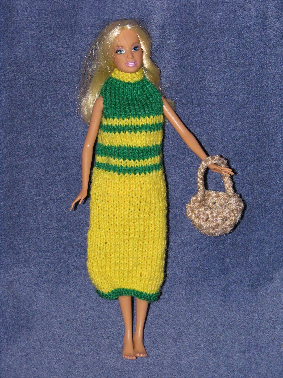 Barbie Collector Dolls: Free Crochet Doll Dress Patterns | BARBIE ...