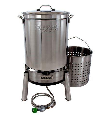 Oversized Turkey Deep Fryer Kit 42 Quart Aluminum Grand Gobbler For 25 Lbs Turkeys By