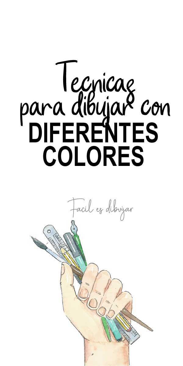 Como Empezar A Dibujar Con Lapices De Color Facil Es Dibujar Como Dibujar Lapices De Colores Aprender A Dibujar