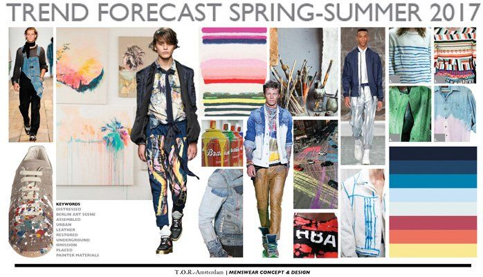 Mens Trend Forecast Spring-Summer 2017