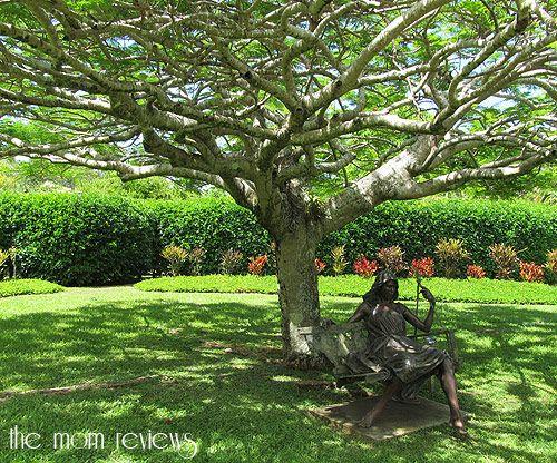 Na Aina Kai Botanical Gardens, Kauai