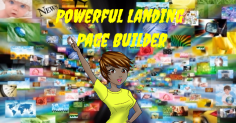 Powerful Landing Page Builder Newspapers, Technology