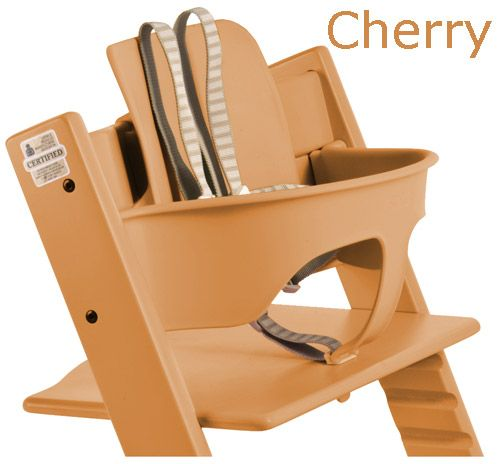 stokke tripp trapp baby set cherry rhymbee pinterest high chairs. Black Bedroom Furniture Sets. Home Design Ideas