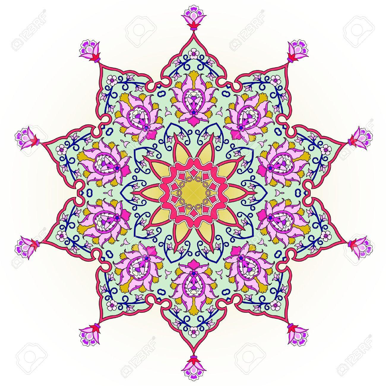 stock photo | islamische muster, türkisches muster und