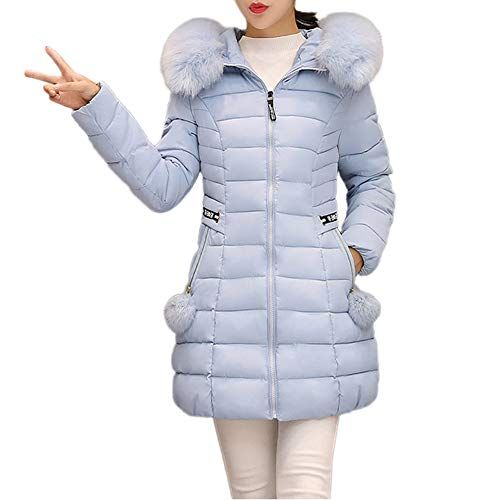 Women s Winter Hooded Coats Clearance-Jiayit Hooded Warm Coat Thick Fur  Collar Parka Best Halloween Costumes   Dresses USA 5769e0a521d