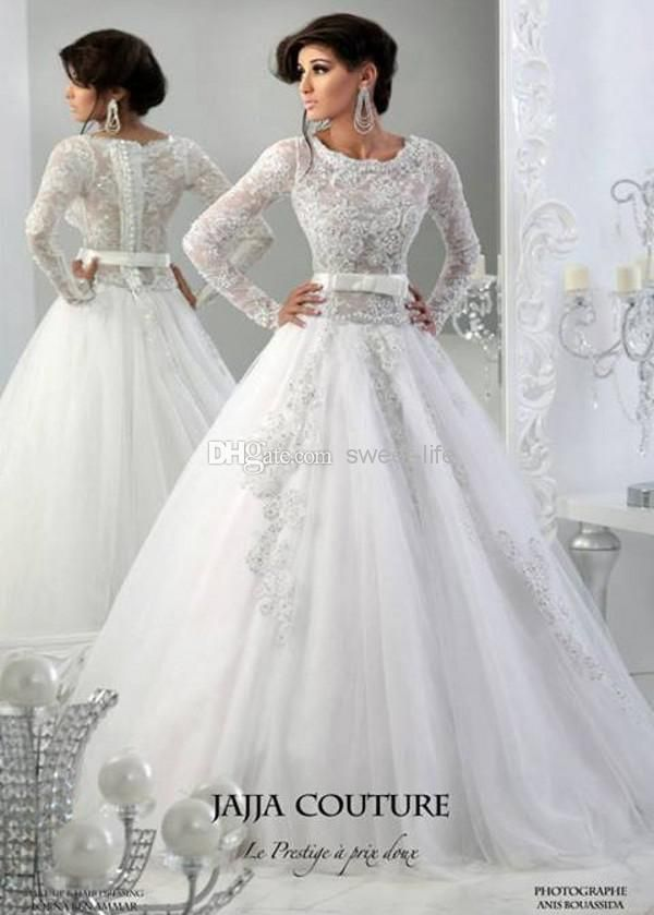 Arabic Wedding Dresses 2014