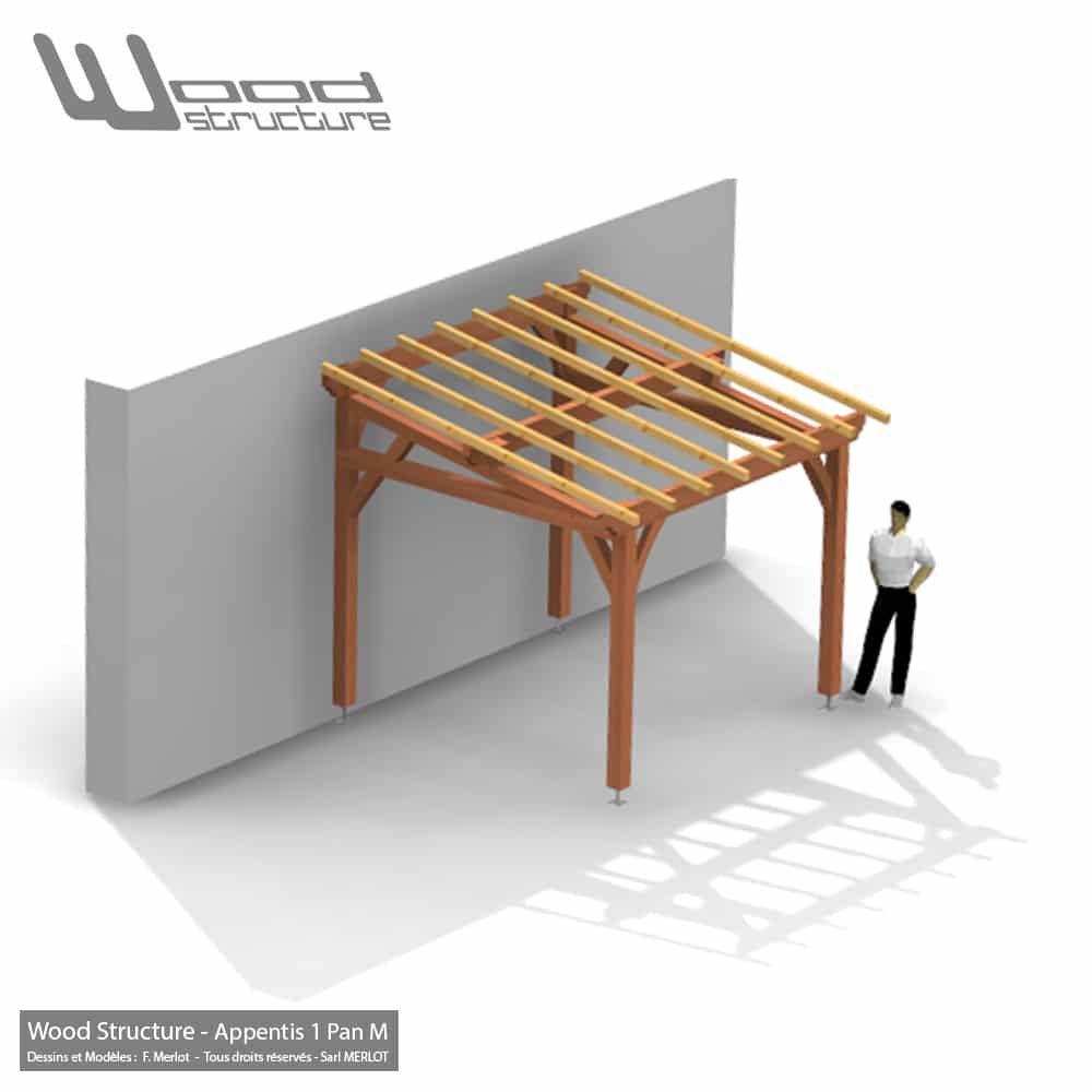 Abris En Bois A Monter abris 2 pans paw 6.8 x 6.6 en 2020 | charpente bois, table