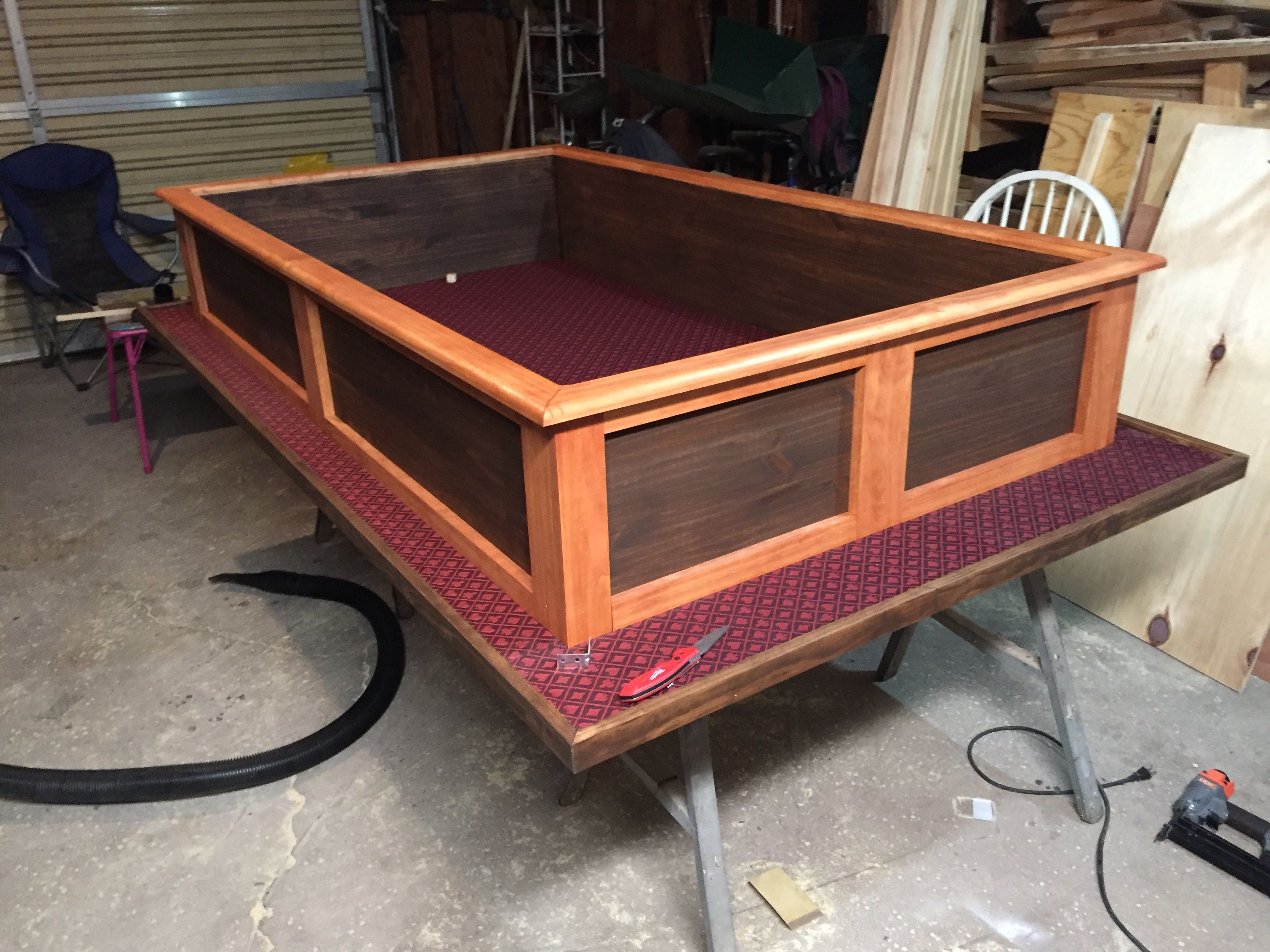 Fine Craps Table Finished Diy Woodworking Shop In 2019 Beutiful Home Inspiration Ommitmahrainfo