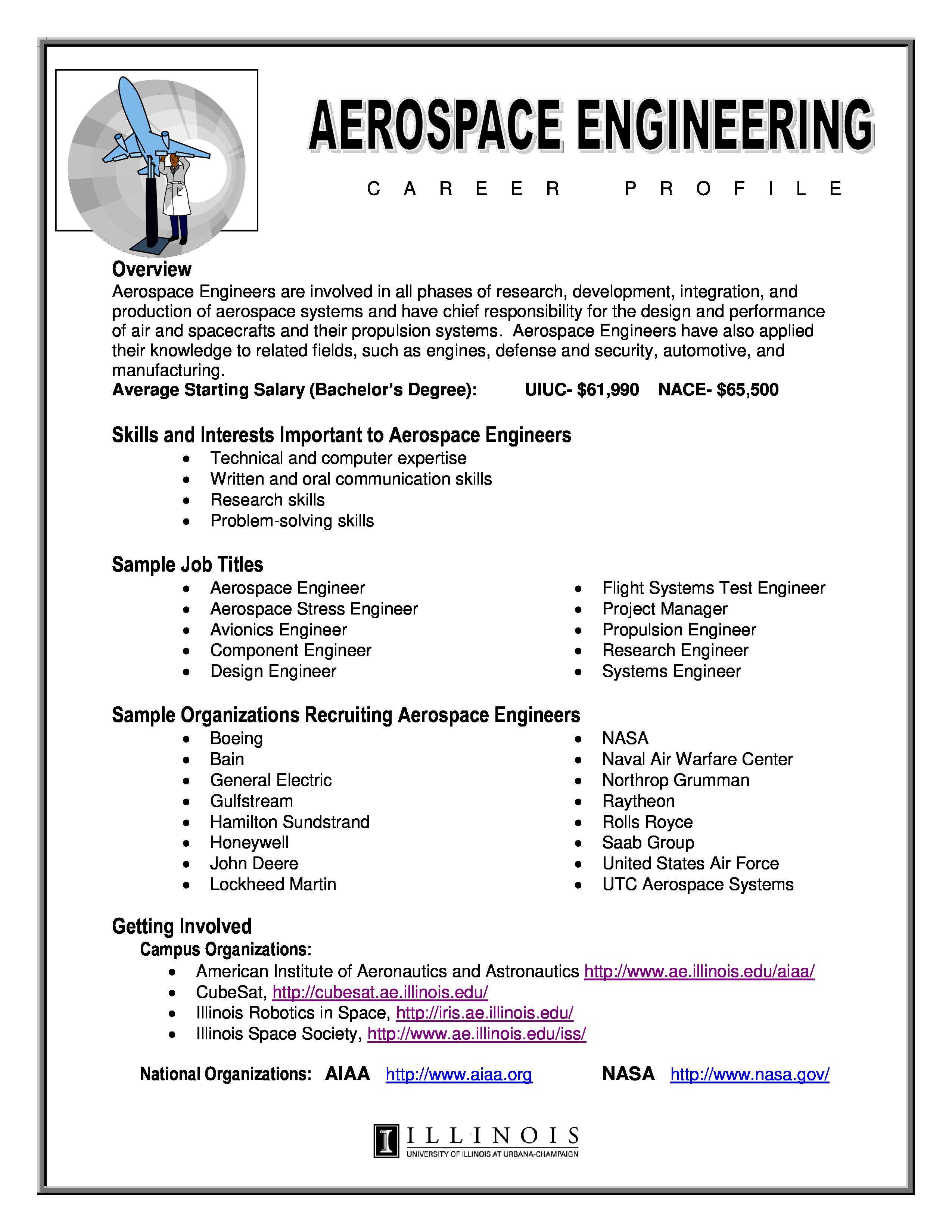 Experienced Aerospace Engineering Resume How To Draft An Experienced Aerospace Engineerin Engineering Resume Templates Engineering Resume Engineering Careers