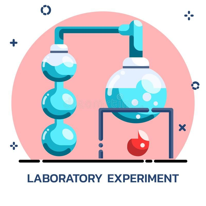 Science Chemical Experiment Flat Style Icon Design For Mobile Application Webs Sponsored Advertisement Spons Experiments Icon Design Mobile Application