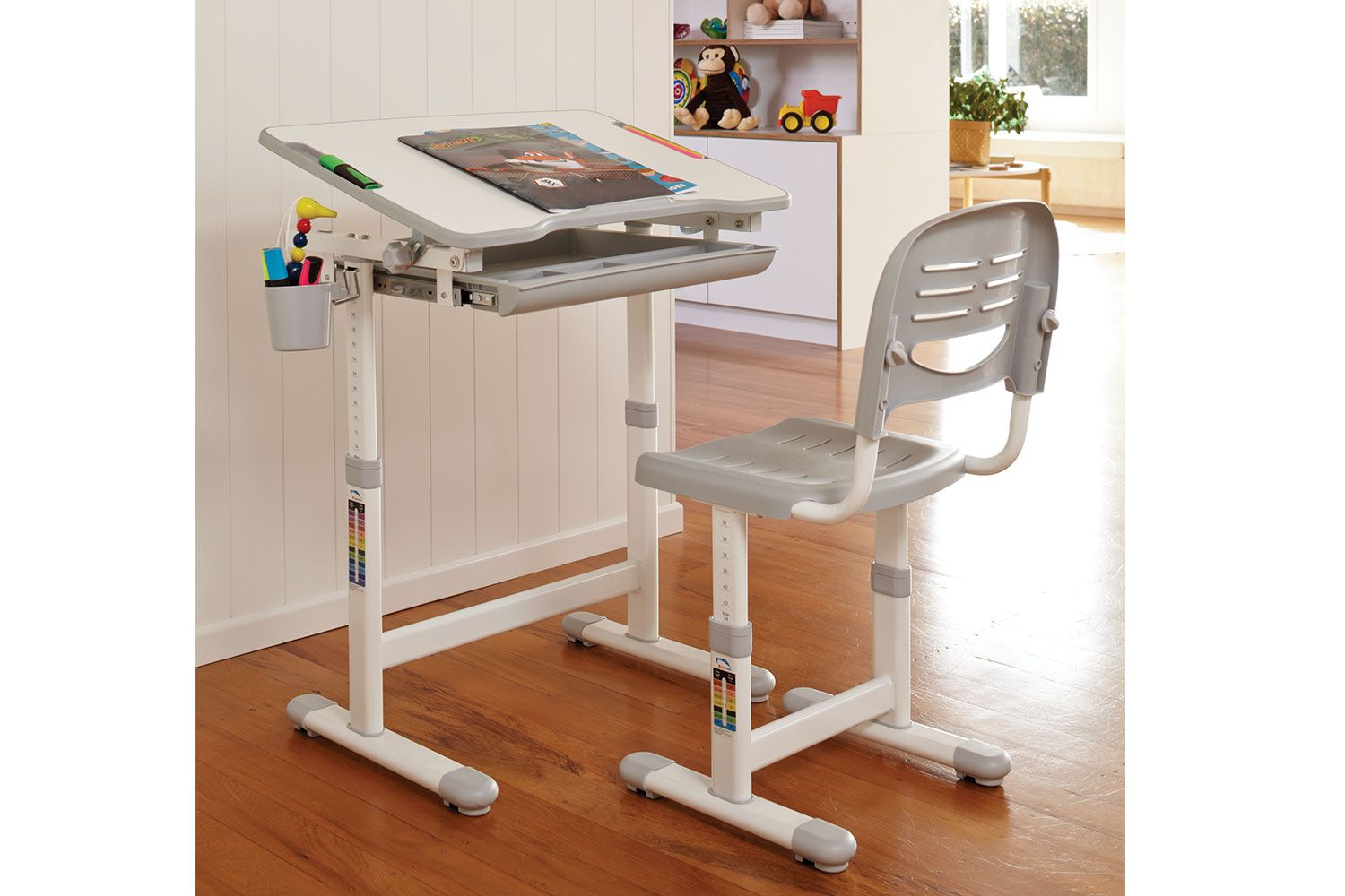 The Ergonomic Kids Desk and Chair is perfect for your