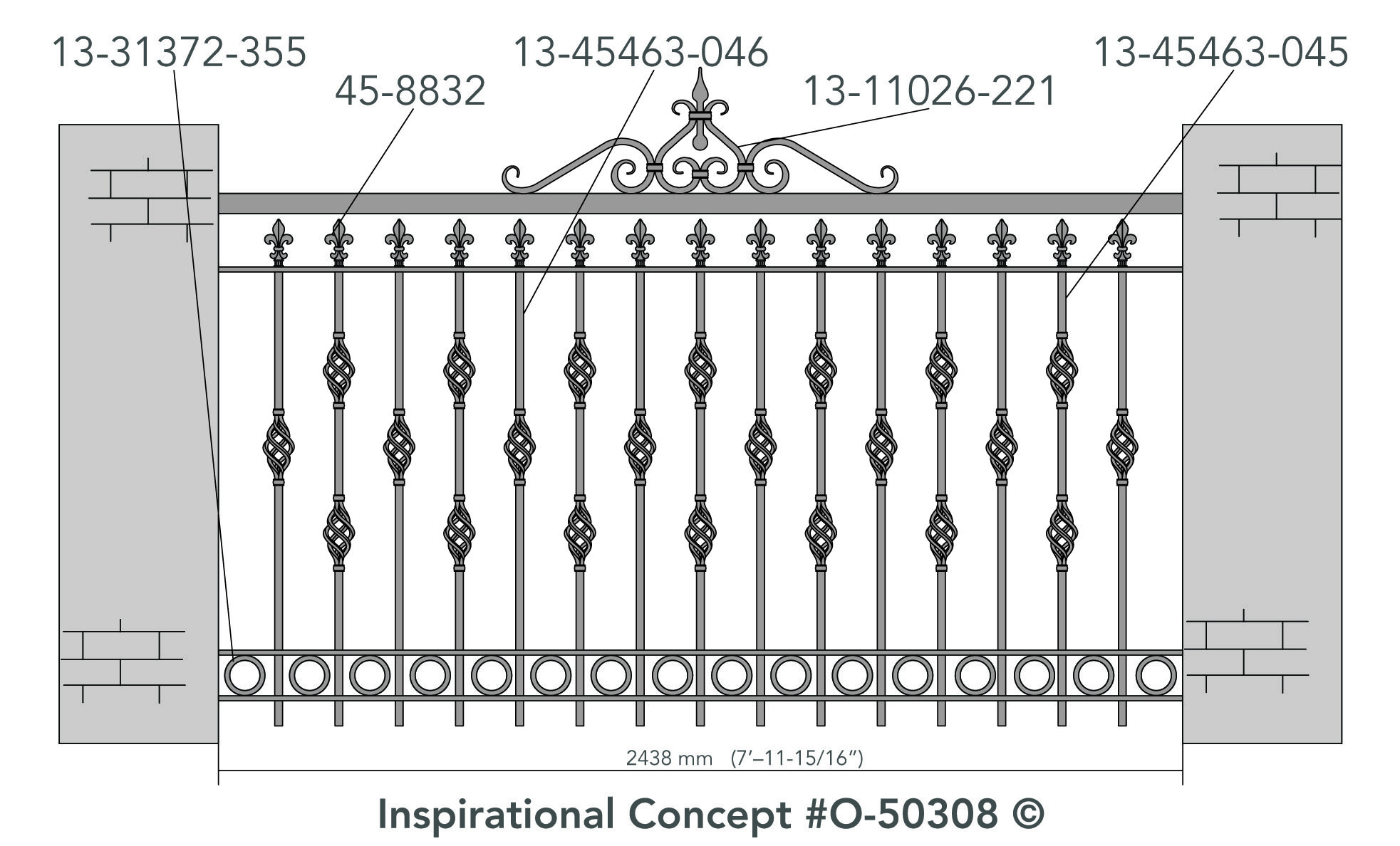 Adding A Simple Fence Topper Can Go A Long Way In Creating A